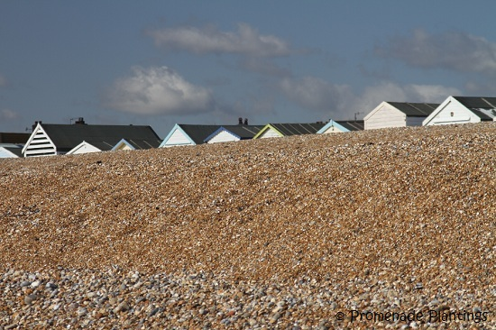 Pebbles and Beach Huts
