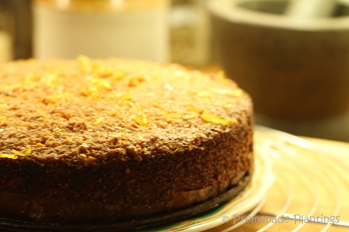 Lemon Polenta Cake - whole