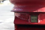 Red Letter Box Close Up 2