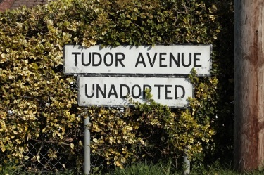 Unadopted road