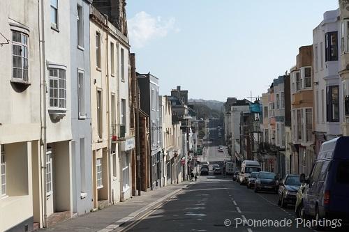 Street view downhill