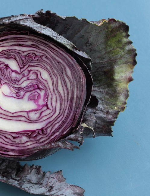 Red Cabbage trimmed