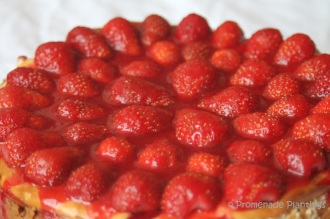 New York Style Strawberry Cheesecake (12)