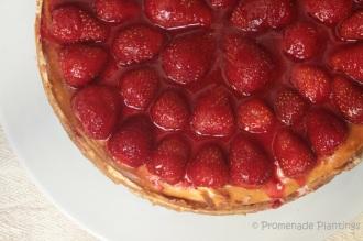 New York Style Strawberry Cheesecake (5)